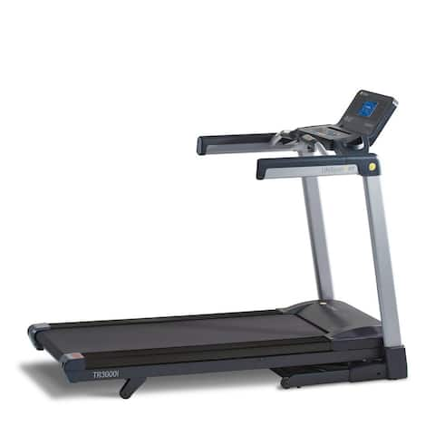 LifeSpan Fitness tr3000i Folding Exercise Treadmill w/ Touchscreen - Black
