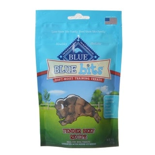 Link to Blue Buffalo Blue Bits Soft-Moist Training Treats Tender Beef Recipe 4 oz Similar Items in Dog Food & Treats