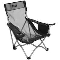 Alps 8143001 alps mountaineering getaway mesh chair black