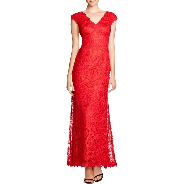 Tadashi Shoji Womens Formal Dress Sleeveless Full-Length