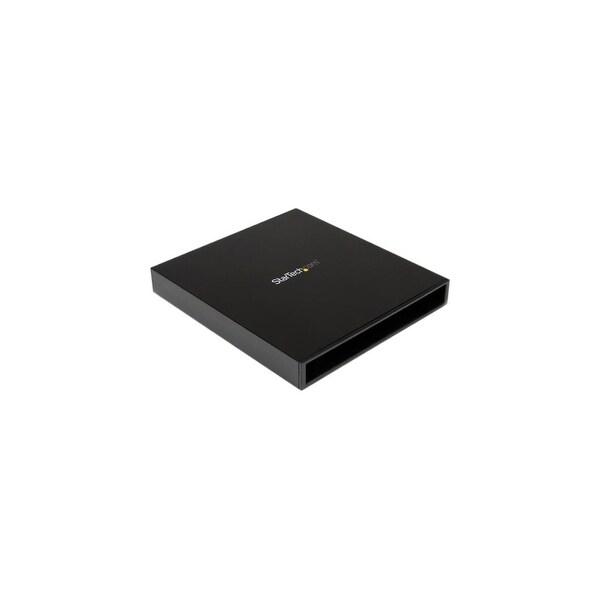 StarTech SLSODDU33B StarTech.com USB 3.0 to Slimline SATA ODD Enclosure for Blu-ray and DVD ROM drives - 1 x Total Bay - 1 x