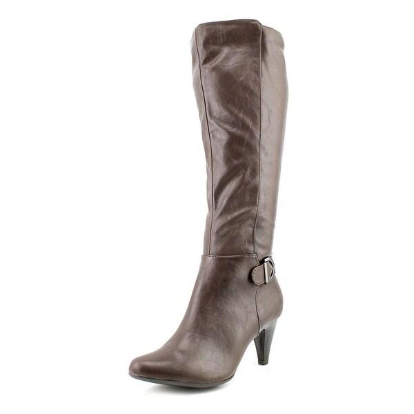 Alfani Jeanna Womens Dk Brown Boots