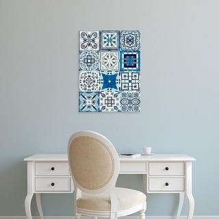 Easy Art Prints Victoria Borges's 'Kaleidoscope Tile I' Premium Canvas Art