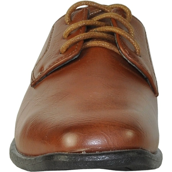 BRAVO Men Dress Shoe KING-1 Classic Oxford with Leather Lining