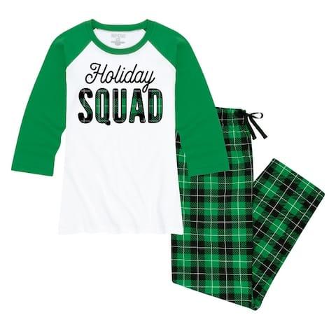 Holiday Squad - Women's Matching Family Christmas Pajama Set