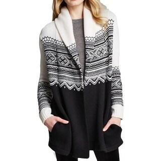 NYDJ Womens Sweater Knit Hooded - s
