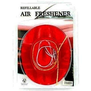 M&F Western Air Freshener Refillable Cowboy Hat Strawberry Red