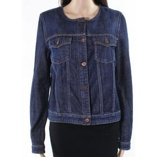 Weekend MaxMara Midnight Womens Tom Denim Jacket