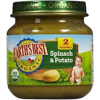 Earth's Best - Organic Spinach & Potato ( 12 - 4 OZ)