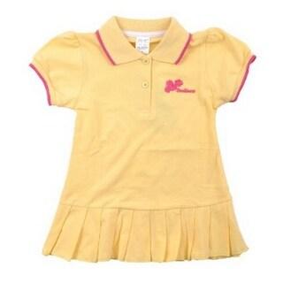 Richie House Baby Girls Sunflower Loveliness Applique Polo Skirt 6M-12M