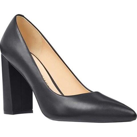 Nine West Women's Astoria Pump Black Leather