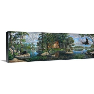 """""""Freedom's Promise Trilogy"""" Canvas Wall Art"""