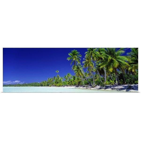 """Tahiti, Bora Bora "" Poster Print"