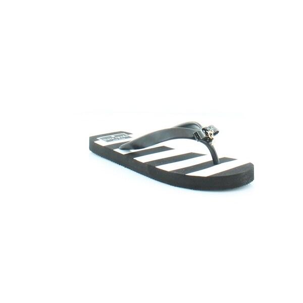 Kate Spade Fifi Women's Sandals & Flip Flops Black/White Stripe - 5
