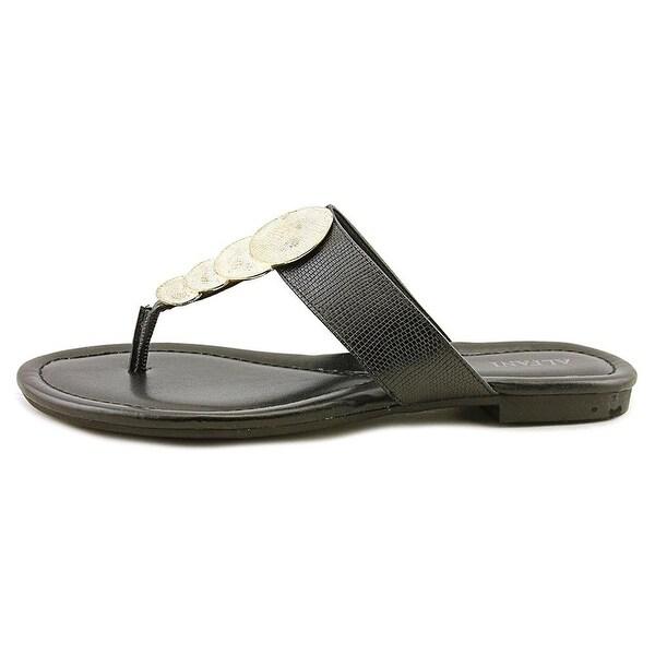 Alfani Womens HARLQUIN Open Toe Casual Slide Sandals