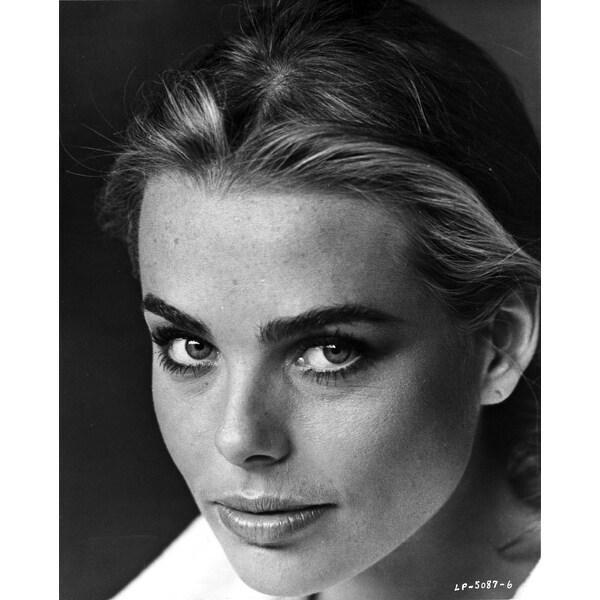 Shop Margaux Hemingway Classic Close Up Portrait With Dark