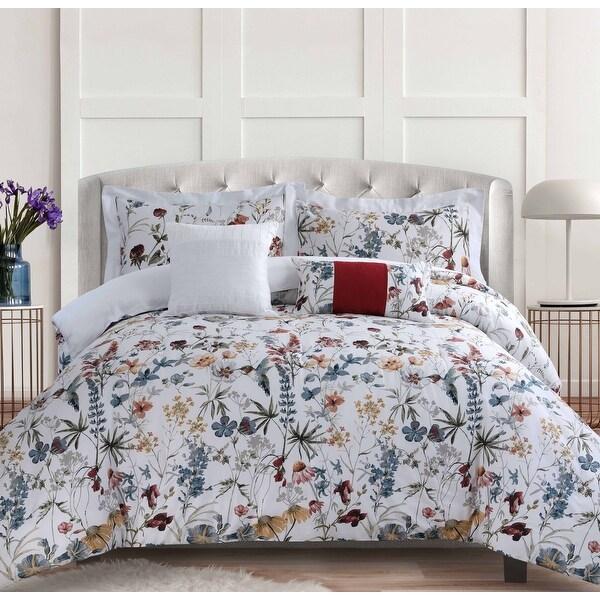 Amalfi 5-piece 300 Thread Count Cotton Oversized Comforter Set. Opens flyout.