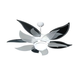 "Craftmade K10612 Bloom 52"" 10 Blade Energy Star Indoor Ceiling Fan - Blades, Remote and Light Kit Included"