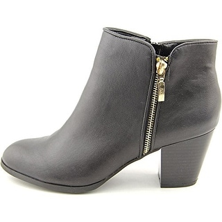 Style & Co TJamila Women Round Toe Synthetic Black Ankle Boot