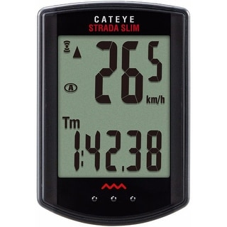 CatEye Strada Slim Wireless Cycling Computer - CC-RD310W Black