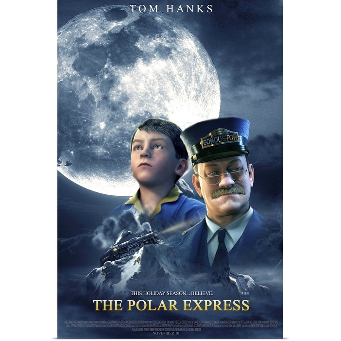 Shop Black Friday Deals On The Polar Express 2004 Poster Print Overstock 24132842