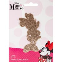 Disney Mickey Mouse Iron-On Applique-Minnie Mouse