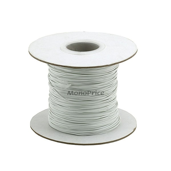 Monoprice Wire Cable Tie, 290 meters - White
