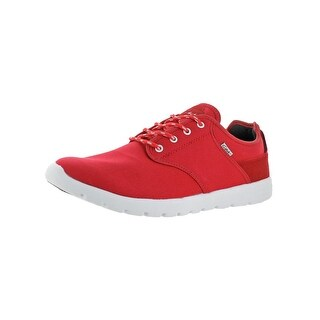 C1RCA Mens Atlas Skate Shoes Aerocush Insole Comfortable Red 11.5 Medium (D) - 11.5 medium (d)