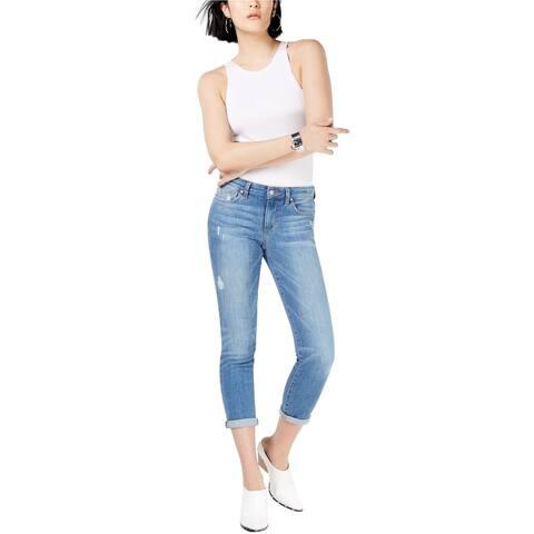 Joe's Womens Makayla Skinny Cropped Jeans, Blue, 26