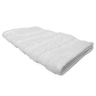 Feather and Stitch Zero Twist Hand Towel, 16x26 Inches