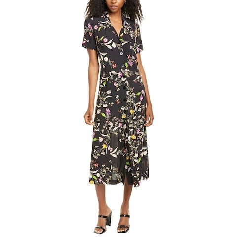 Nicole Miller Patch Pocket Shirtdress