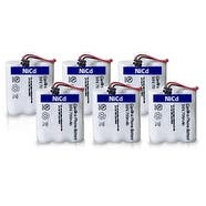 Replacement Uniden BT905 Battery for DXAI4288-2 / EXA2955 / EXI7246C Phone Models (6 Pack)