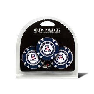 University Arizona 3 Pack Golf Chip Ball Markers