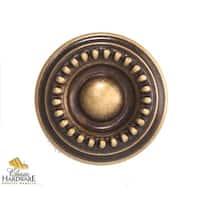 Bosetti Marella 100430 Louis XVI 1-3/16 Inch Diameter Mushroom Cabinet Knob