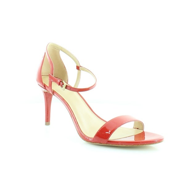Michael Kors Simone Dress Sandals Women's Heels Bright Red