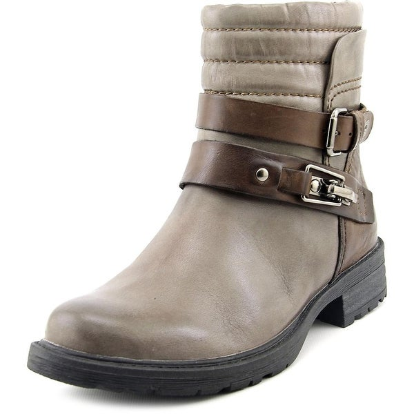f83edfe2120 Shop Earth Pepperidge Women Round Toe Leather Ankle Boot - Free ...