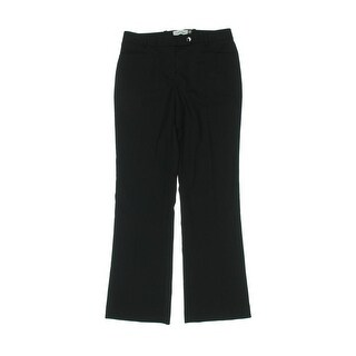 Calvin Klein Womens Petites Dress Pants Modern Fit Pinstripe