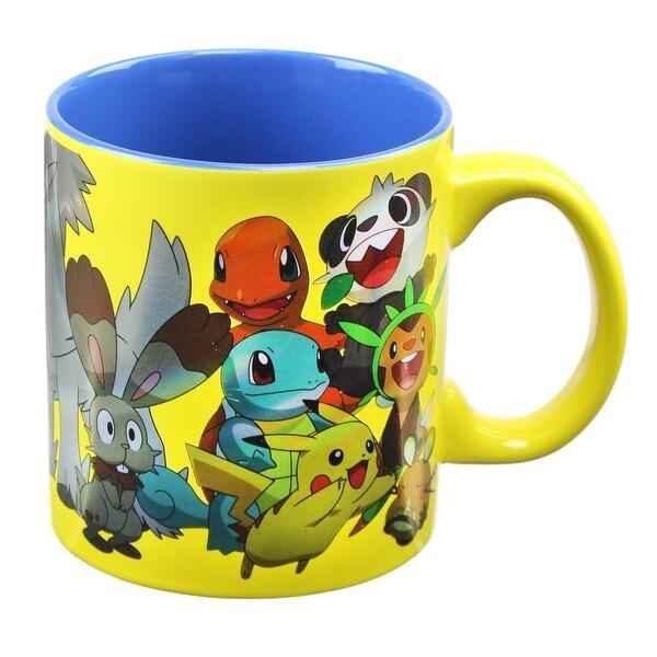Pokemon Group Foil Print Mug