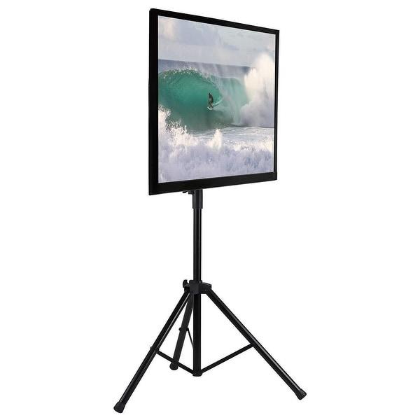 Mount-It! Tripod Portable TV Stand Fits LCD LED Flat Screen TV-MI-874