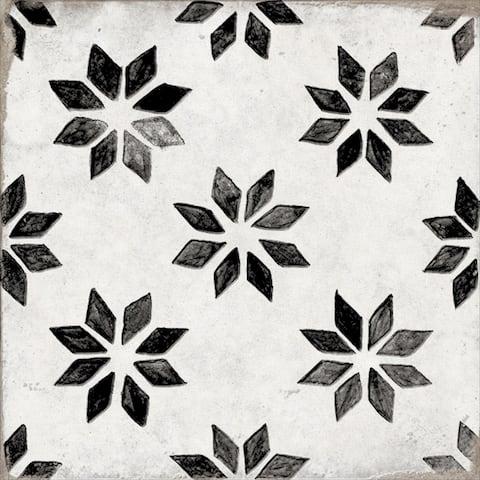 "Albori 8"" x 8"" Porcelain Patterned Wall & Floor Tile (Set of 29)"