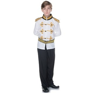 Underwraps Prince Charming Child Costume - White/Black
