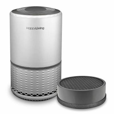 HEPA 3-Stage Filtration Air Purifier plus Extra Replacement Filter