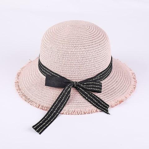 Ladies Fashion Fringed Beach Hat