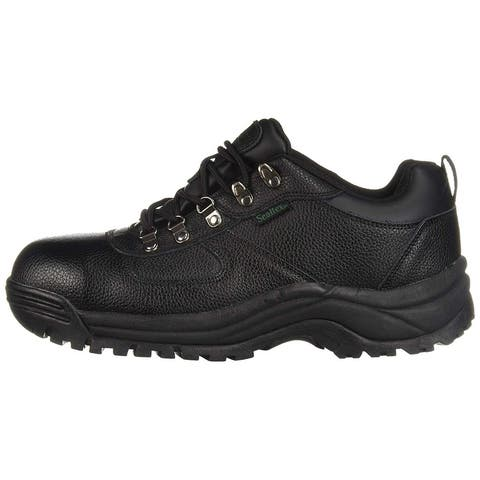Propét Mens Shield Leather Steel toe Lace Up Safety Shoes