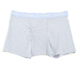 Alfani NEW Heather Blue Mens Size XL Stretch Logo Boxer Brief Underwear