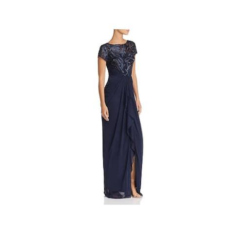 Adrianna Papell Womens Evening Dress Bodice Formal