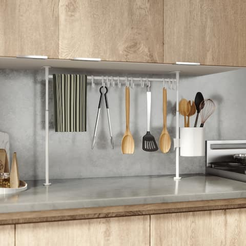 Umbra ANYWHERE Kitchen Tension Rod with Caddy