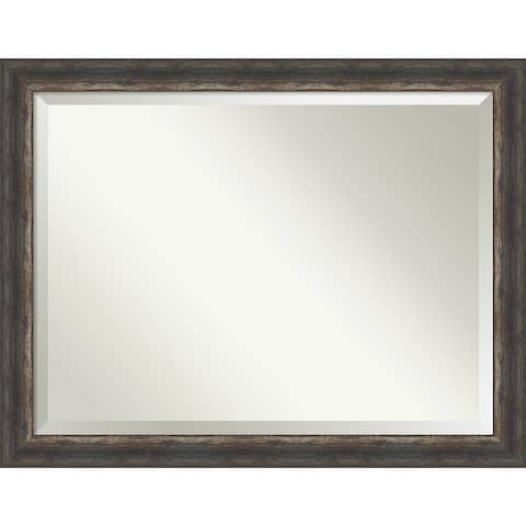 Bark Rustic Bathroom Vanity Wall Mirror