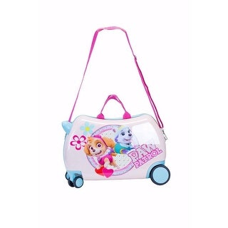 """ATM Luggage White Paw Patrol Wheel Carry-On PP """"Everest & Skye"""" Cruizer - One size"""