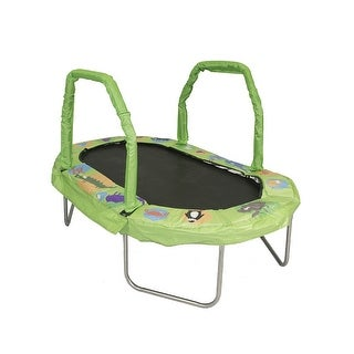 Bazoongi JK3866GN 38 x 66 in. Jump king Mini Oval Pad, Green